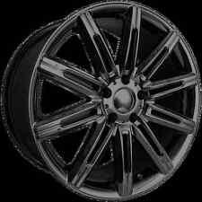 """4 Vogue 20"""" Wheels PVD Black Chrome Rims Lexus SC430 GS350 NX200T RX350 Camry"""