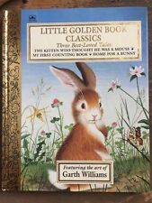 TREASURY LITTLE GOLDEN BOOK CLASSICS 3 Best Loved Tales; BIG Golden Book 1st Ed