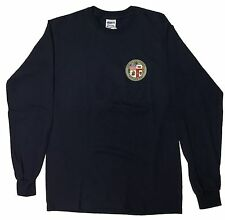 City Of Los Angeles Long Sleeve T Shirt Color Navy Blue 2XL
