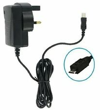 Black CE Approved Micro USB Mains Charger For Vodafone Smart First 7