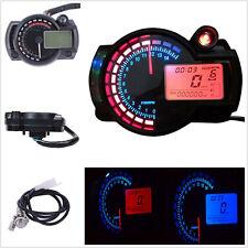 MOTO, regolabile, digitale,, contachilometri, km/h, &, mph, Honda, Suzuki, Kawasaki, Yamaha,