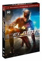 The Flash - Serie Tv - Stagione 2 - Cofanetto Con 5 Dvd - Nuovo
