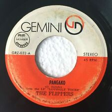"THE FLIPPERS Pangako b/w Jean PHILIPPINES OPM 7"" 45 RPM"