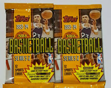 NBA Basketball 1993-94 Topps 12 Sports Cards (series 2) &