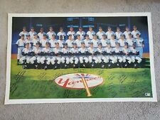 "1961 New York Yankees 23"" x 37-1/2"" Ron Lewis Litho Signed by 32 - Mickey Mantle"