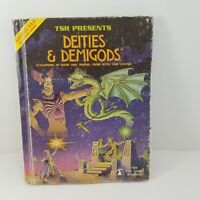 Vintage 1980 Dungeons & Dragons Deities & Demigods 144 Pages TSR Book