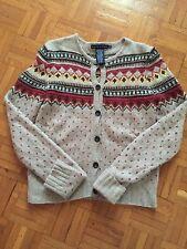 Maglione Maglia RALPH LAUREN cashmere Cachemire Sweater New Amazing! Jumper M