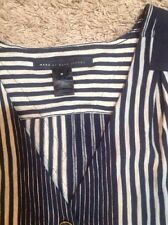 Marc Jacobs Chambray Denim Stripes Dress Medium A92