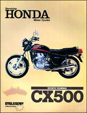 HONDA CX500 SHOP MANUAL SERVICE REPAIR BOOK CX 500 TWIN WORKSHOP