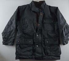 BabyGap Toddler Boys Winter Jacket Black Flannel Lining size 4T