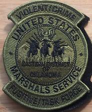US Marshals Service - EDofOK VCFTF OD + hook - Genuine *Kokopelli Patch*