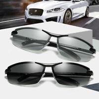 Photosensitive Automatic Color Changing Polarized Sunglasses Men Driving Glasses