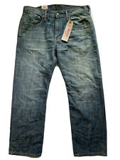 Levi's 569 Men's 32X30 Jeans Loose Straight Leg Medium Wash Denim NWT
