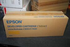 NEUF & ORIGINAL - Toner EPSON S050097 YELLOW Jaune pour AcuLaser C900 & C1900