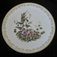 "Boehm Indian Summer Bouquet English Bone China 10.5"" Plate"