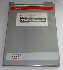 Werkstatthandbuch Audi A4 / A 4 / B5 Fahrwerk Eigendiagnose für ABS, ESP ab 1995