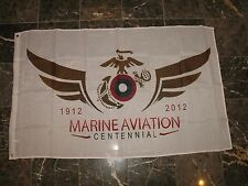 3x5 USMC Marines Marine Aviation Centennial 1912-2012 Military Flag 3'x5' Banner