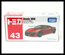 TOMICA #43 HONDA NSX 1/62 TOMY 2016 DEC NEW MODEL DIECAST CAR RED