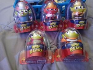 Disney Pixar Alien REMIX Lot of 5 Figures NIB # 7 10 12 13 and 16