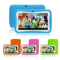 7 inch Kids Tablet Android 4.4 Quad Core 8GB Camera PC for Education Gaming New