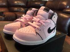 Jordan Retro 1 Suede Foam Pink Size 7C Love Shadow Royal Breds Suede Shattered