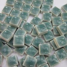 100pcs - 110grams Micro Ceramic Mosaic Tiles Emerald GP3