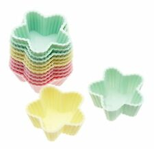 'Sweetly Does It' Set of 12 Mini Silicone Star Shape 3.5cm Cupcake Cake Cases