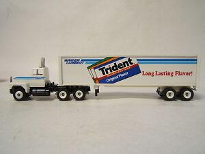 Winross Tractor Trailer Warner Lambert Trident Listerine Ford 9000 VGC in box