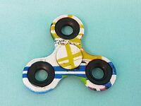 Fidget Spinner Bunt 2 Print Finger Hand Kreisel ADHS  EDC Anti Stress Spinnerz