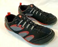 Merrell Mens Shoes True Glove Black Molton Lava Vibram Run Cross 10.0 EUC READ