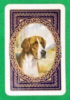 Playing Cards 1 Single Swap Card - Old Vintage GREAT DANE DOG Portrait