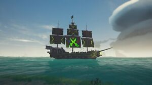 Sea of Thieves Xbox Series X/S Duke Ship set. Rare Cosmetic!