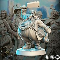BOMBUR THE HOBBIT (The lord of the rings) 32mm DWARF LOTR DnD ROL WARHAMMER