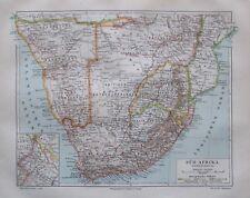 1897 Süd-Afrika Kapkolonien - alte Landkarte Karte old map Lithografie