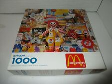 Springbok First in a Series 1000 Piece Jigsaw Puzzle McDonalds