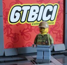 LEGO CITY  MINIFIGURA  `` VOLCANO EXPLORER DRIVER ´´ Ref 60120 ORIGINAL LEGO