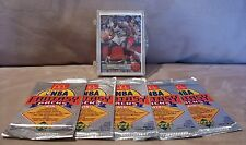 92 - 92 McDonalds Upper Deck NBA Basketball Set Shaq Rookie + 5 Packs FREE SHIP