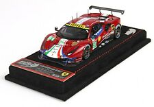 Ferrari 488 GTE 24 hr Le Mans 2018 AF Corse #51 BBR 1:43 no Looksmart MR ! NEW
