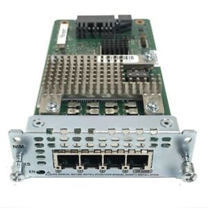 CISCO NIM-4FXS 4-port Network Interface Module FXS for ISR 4000 Series Routers