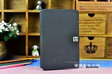 Kolorfish Designer D Buckle Mini Leather Case Cover For iPAD Mini Mini 2 --Black
