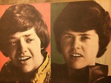 Jay and Merrill Osmond, The Osmonds Brothers, Full Page Vintage Pinup