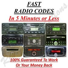 2003 ford focus stereo code