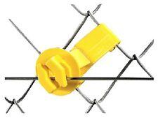 Dare, 50 Pack, Yellow, Snug Chain Link & U-Post Insulators