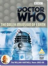 DR WHO 010 (1964) THE DALEK INVASION OF EARTH TV Doctor William Hartnell NEW DVD