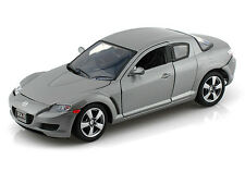 Motor Max 1/24 Scale Mazda RX-8 Grey Diecast Car Model 73323