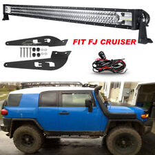 Mounting Brackets Fit for Toyota FJ CRUISER + 52Inch 2610W LED Light Bar TRI ROW