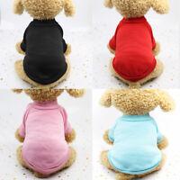 Pet Dog Warm Jumper Sweater Clothes Puppy Cat Cotton Coat Jacket Winter Apparel