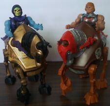 vintage he-man motu Strider and Night Stalker action figures lot