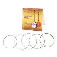 5pcs/set BJ11 Banjo String Stainless Steel Coated Copper Alloy Wound (.009-.020)