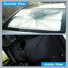Windshield Sun Shade, Universal Car Cover Sunshade Front Window Mount Umbrella